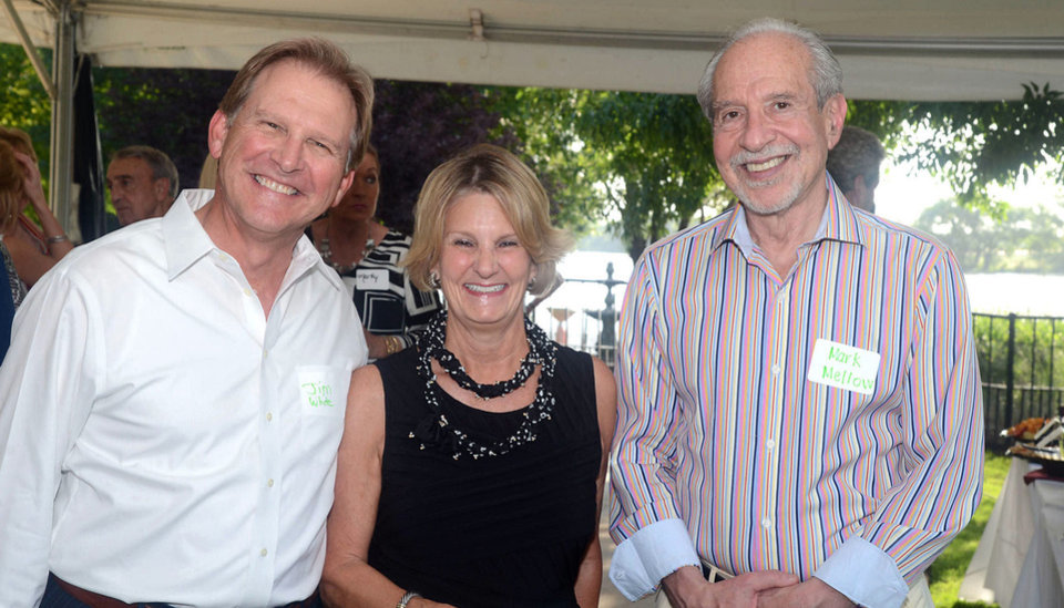 Photo - Jim White, Sally Hood, Mark Mellow. Photo by David Faytinger, for The Oklahoman