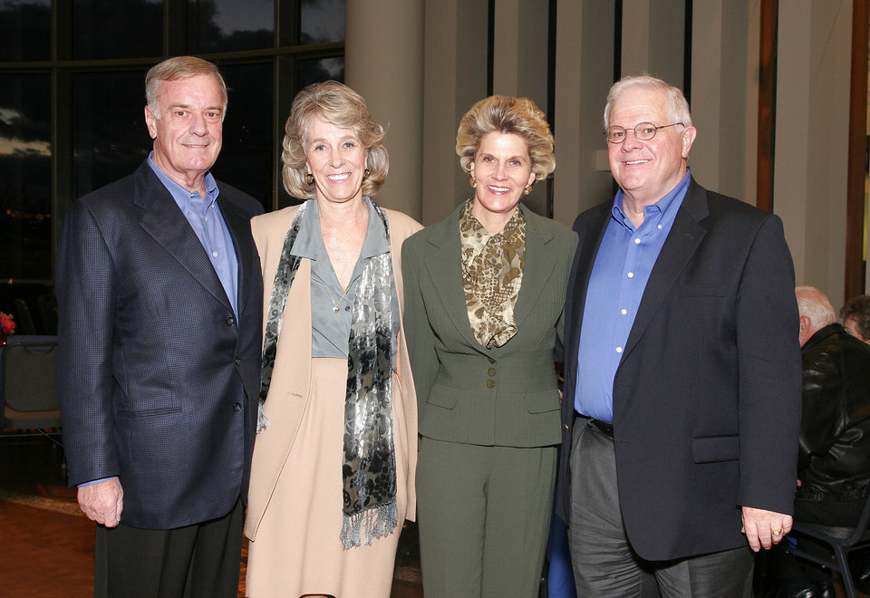Jerry and Mary McMorris and Cindy and Johnny McCharen. - PHOTO BY DAVID FAYTINGER, FOR THE OKLAHOMAN