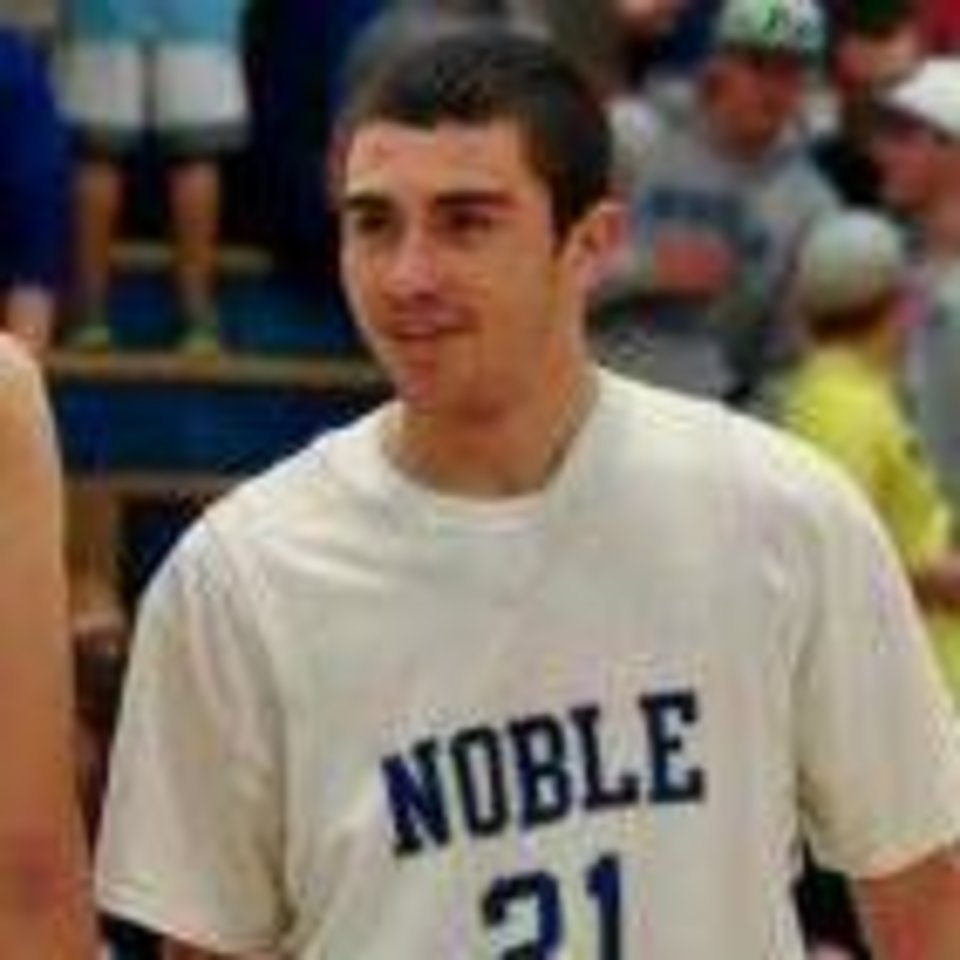 Photo - Noble's Jared Palmer. PHOTO PROVIDED