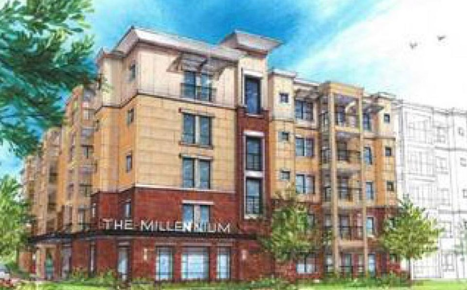 An artist drawing of The Millenium. Drawing provided  <strong>PROVIDED</strong>