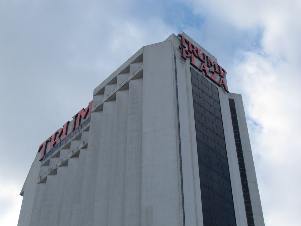 Photo - This Dec. 9, 2011 photo shows the exterior of Trump Plaza Hotel and Casino in Atlantic City N.J. The casino's parent company said on Saturday July 12, 2014 that it expects to close Trump Plaza on Sept. 16. It would be the third Atlantic City casino to shut down this year.(AP Photo/Wayne Parry)