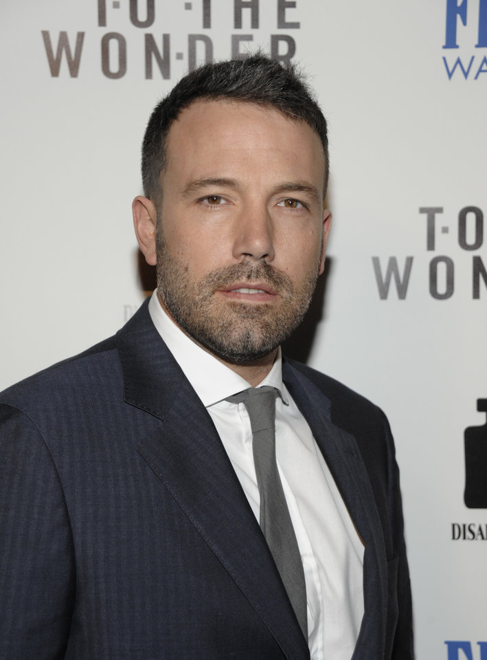 Photo - FILE - In this Tuesday, April 9, 2013 file photo, actor Ben Affleck arrives at the LA premiere of the feature film
