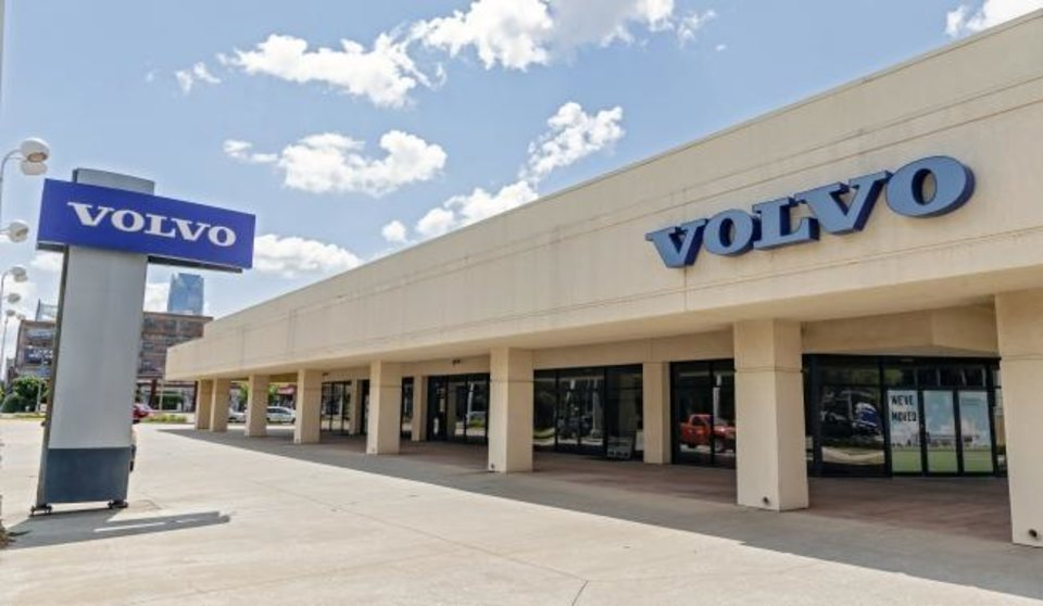 Photo -  Tesla will open a service center at the old Volvo dealership located at 1125 N Broadway Ave. in Automobile Alley. [CHRIS LANDSBERGER/THE OKLAHOMAN]