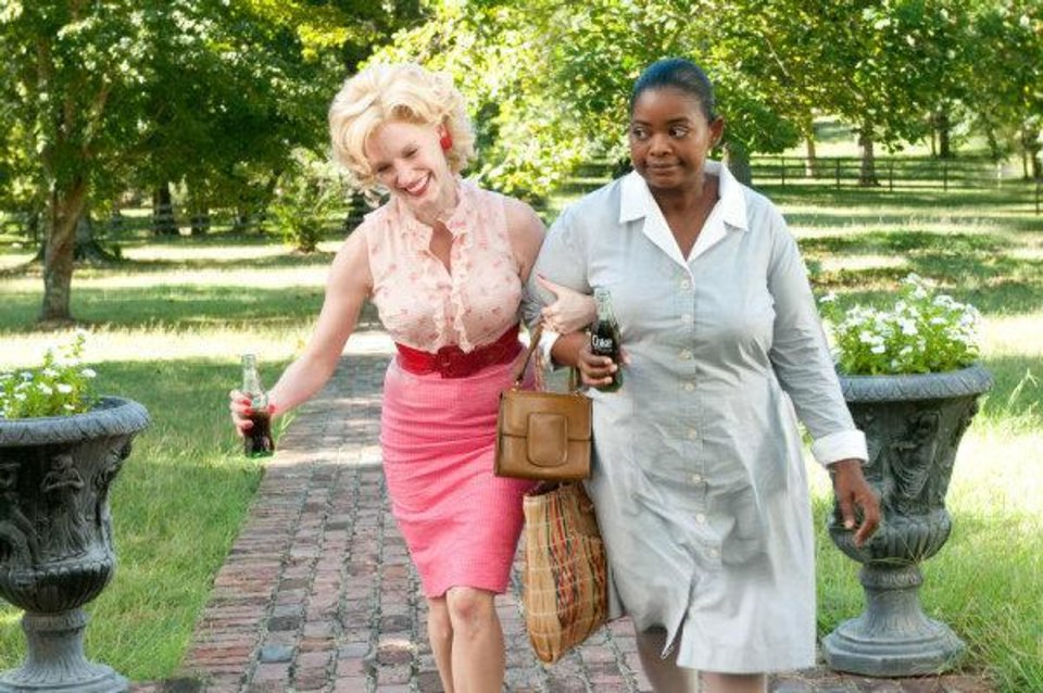 Photo - Jessica Chastain, left, and Octavia Spencer star in