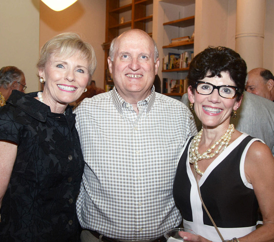 Photo - Darlene Parman, Barry Gray, Cindi Shelby. Photo by David Faytinger, for The Oklahoman