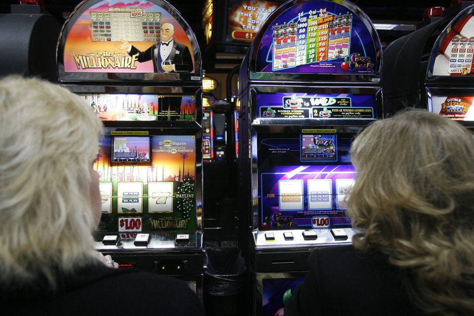 Photo - FILE PHOTO: The Cheyenne and Arapaho Tribes want to offer online gaming to international players. Shown is the tribes' Lucky Star Casino in Concho.  PAUL HELLSTERN - THE OKLAHOMAN