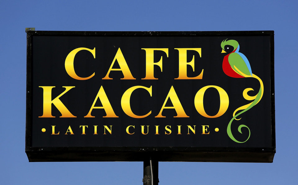 Cafe Kacao is, a Guatemalan restaurant. <strong>Jim Beckel - THE OKLAHOMAN</strong>