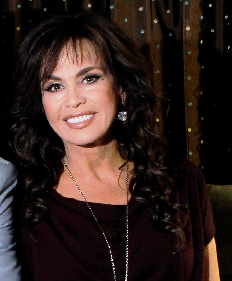 Marie Osmond spoke in Oklahoma City on Monday, March 26, 2012. She is pictured in Las Vegas, Nevada, on April 28, 2011. AP File Photo
