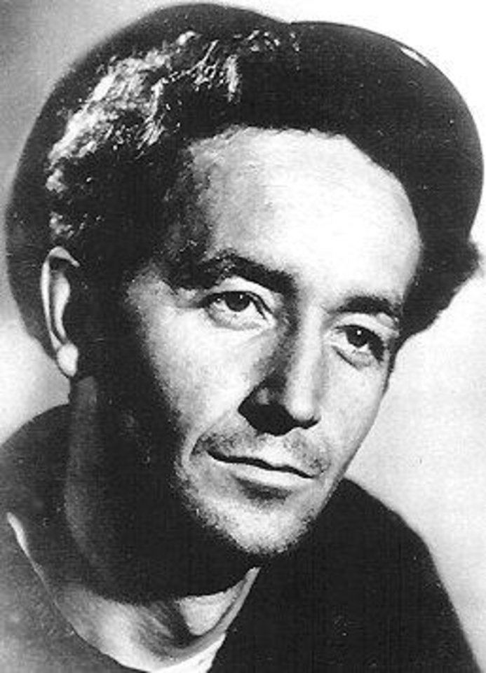 Photo - Woody Guthrie, musician