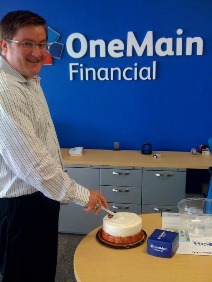 OneMain Financial Oklahoma City (south branch) celebrates it\'s name change (was formerly CitiFinancial)!