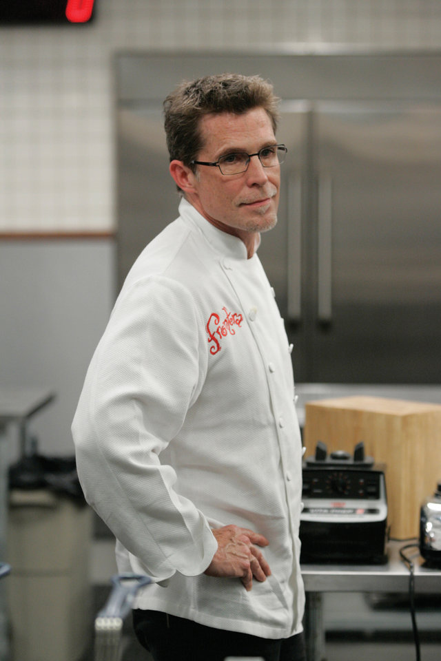 Photo - TOP CHEF MASTERS: Rick Bayless, chef, Chicago restaurateur and Oklahoma native 		ORG XMIT: 0907211404394312