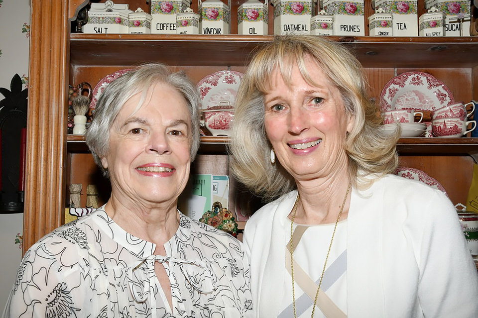 Photo - Joyce Stewart, Anne Gray. PHOTO BY FRAN KOZAKOWSKI, FOR THE OKLAHOMAN