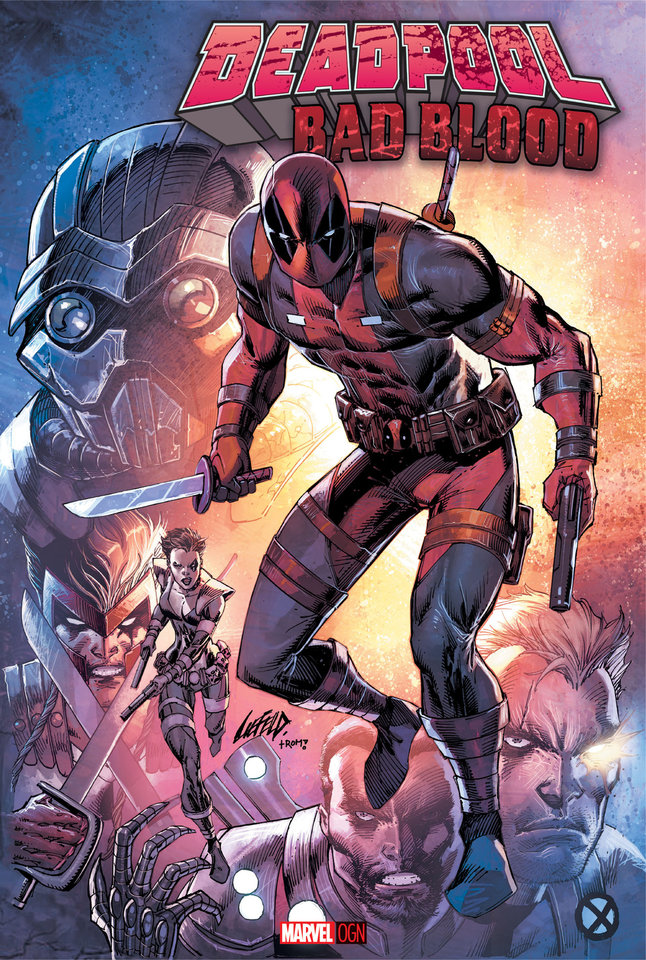 Photo -  Deadpool creator Rob Liefeld returns to the character to illustrate