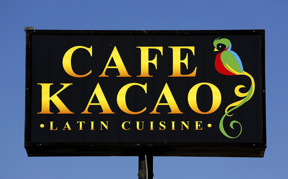 Photo - SIGN: Cafe Kacao, a Guatemalan restaurant, 3325 N Classen.  Veronica Del Cid prepares Guatemalan-style tamales in the restaurant kitchen on Wednesday, Nov. 28, 2012.   Photo by Jim Beckel, The Oklahoman