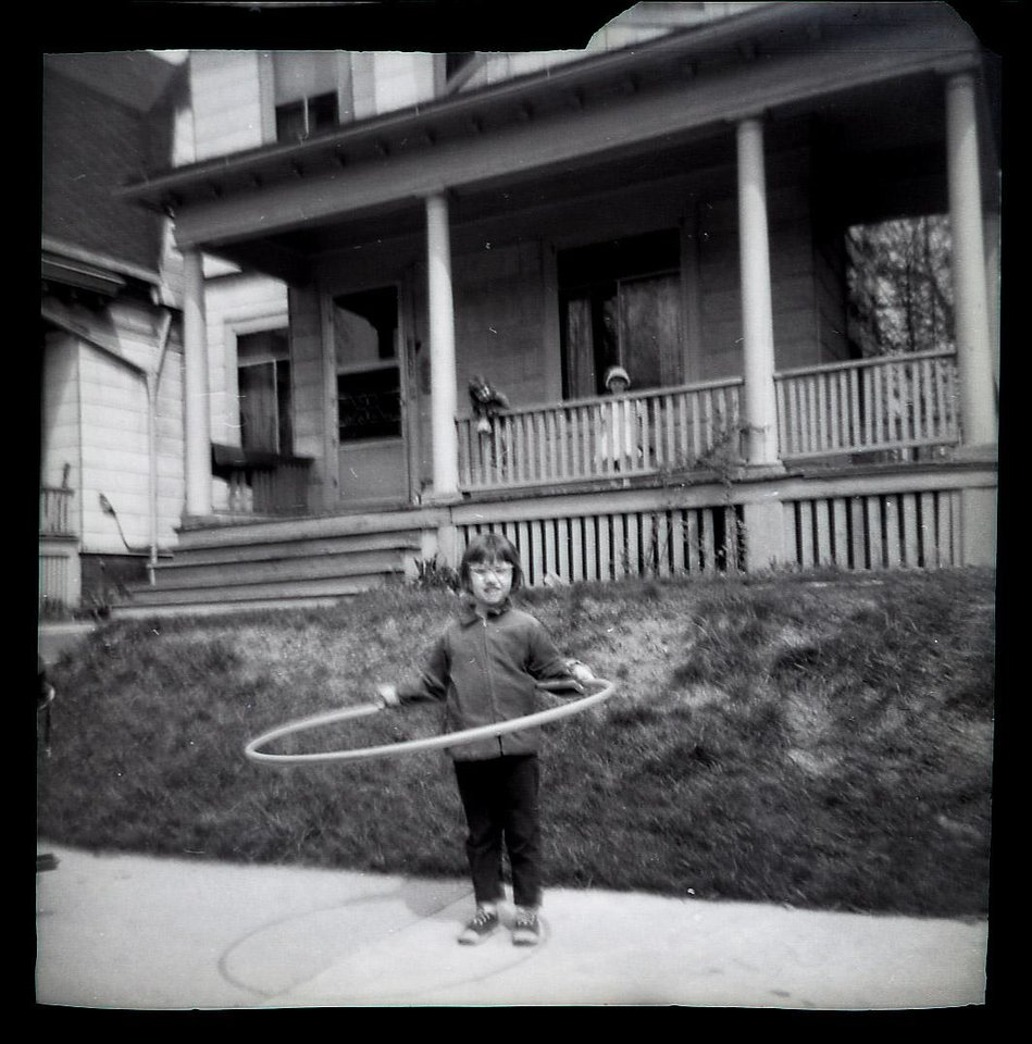 This 1969 family photo shows Donna Willing in front of her home in Milwaukee. Donna was raped and strangled in 1970. Police have identified Donna Willing's childhood neighbor as the alleged killer: 73-year-old Robert Hill. He's been in prison for other sexual assaults of children. The biological evidence in Donna Willing's case was lost or destroyed, and prosecutors are using Wisconsin's sex offender law to possibly keep him in custody indefinitely. They hope to prove Hill is a sexually violent person during a Monday, Nov. 19, 2012 hearing. (AP Photo/Family Photo via Milwaukee Journal-Sentinel)
