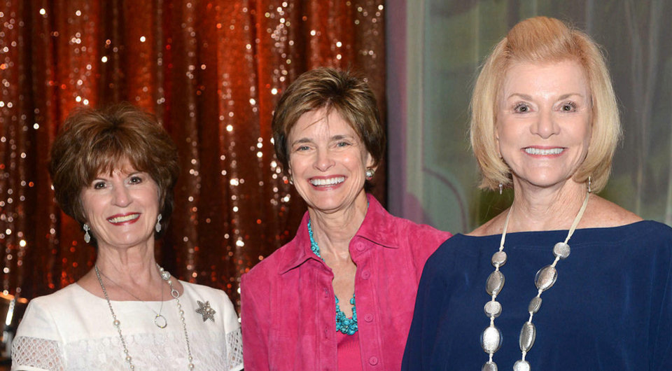 Photo - Barbara Brou, Polly Nichols, Judy Love. Photo by David Faytinger, for The Oklahoman