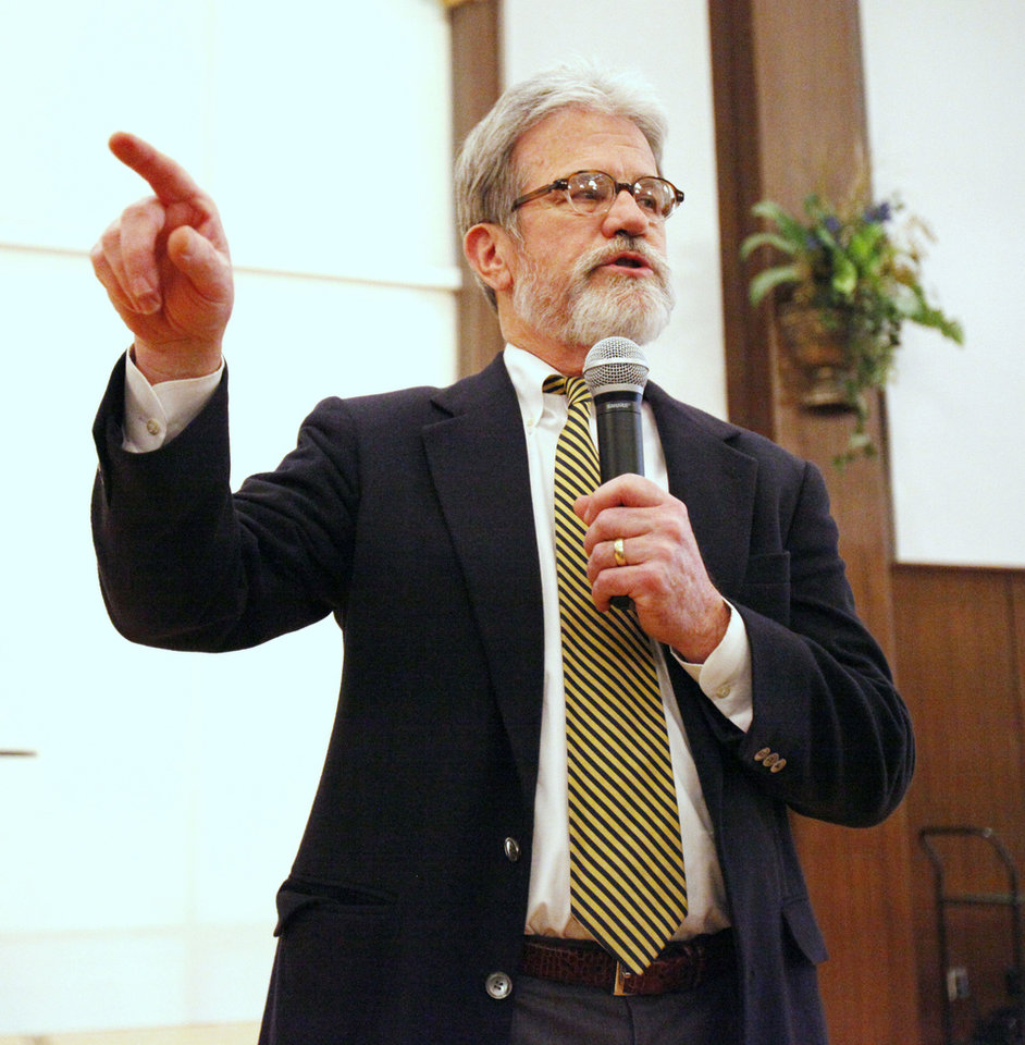 U.S. Sen. Tom Coburn <strong>PAUL HELLSTERN</strong>
