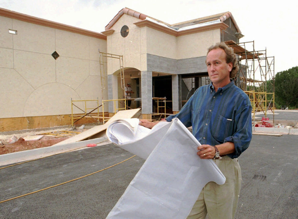Photo - In his youth, Tommy Byrd built a Bellini's location in Edmond.