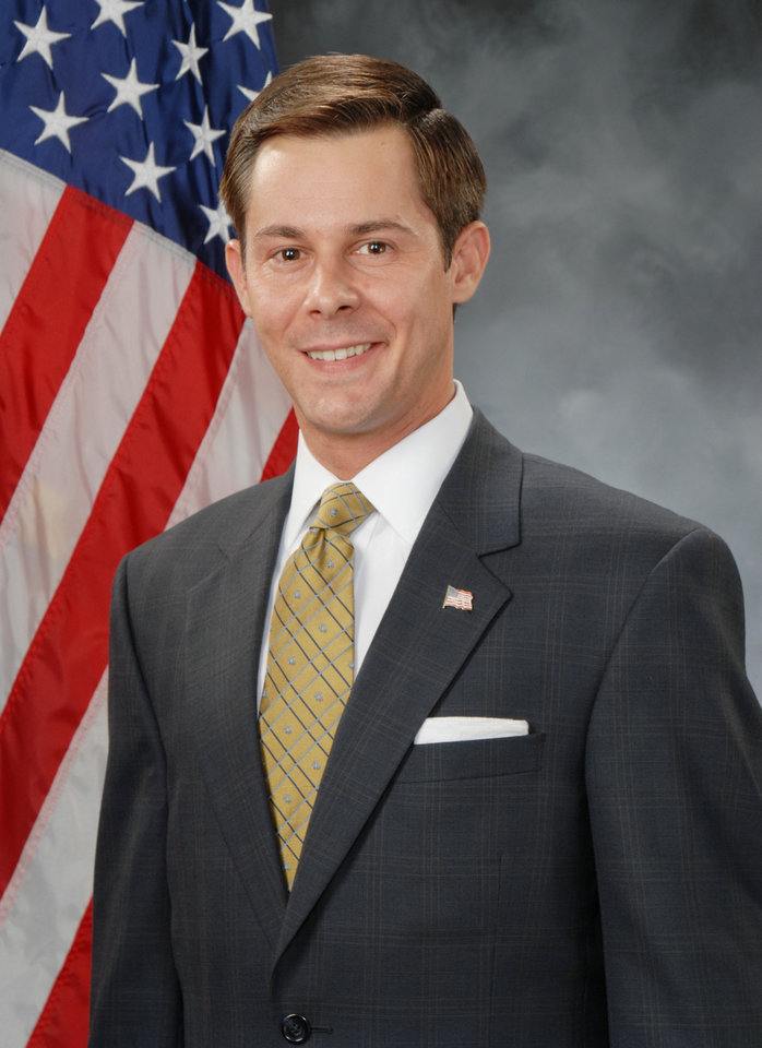 Photo - Corey Brooks, State Senate District 43, Republican, 32 of Washington, OK.