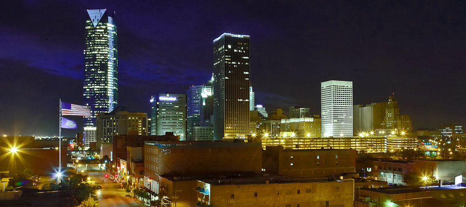 The downtown Oklahoma City skyline has been transformed the past decade with new corporate nameplates afixed to some of its tallest towers. But a national report suggests that downtown is losing employment to the city's outer-ring. <strong>CHRIS LANDSBERGER</strong>