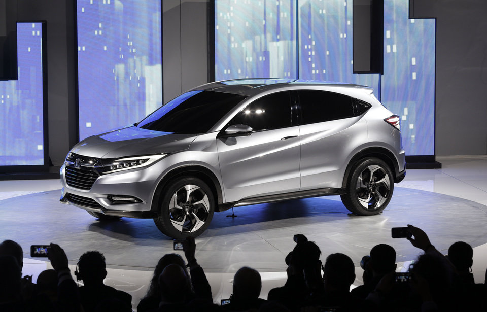 The Honda Urban SUV Concept is shown Monday at media previews for the North American International Auto Show in Detroit. AP Photo <strong>Paul Sancya</strong>