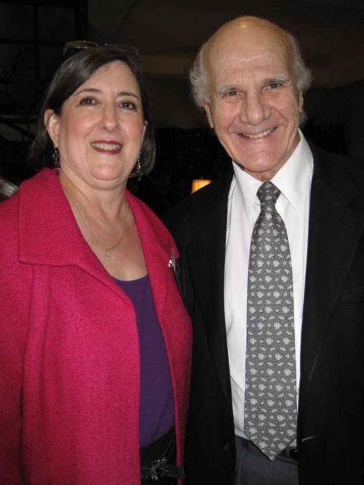Heart Rhythm Institute..Judy Austin and Ralph Lazzara were at the event. (Photo by Helen Ford Wallace)