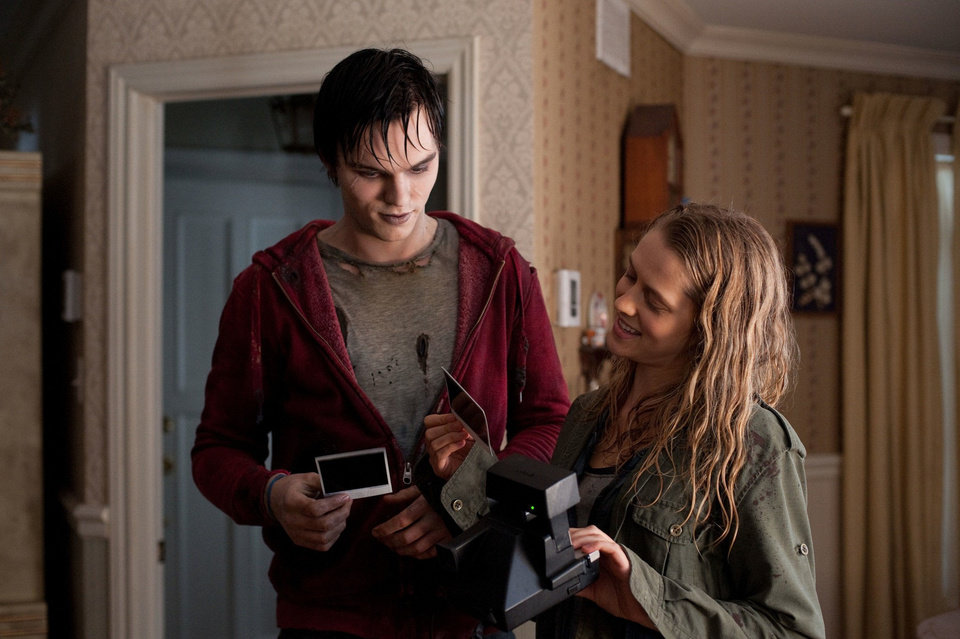 "Nicholas Hoult and Teresa Palmer in a scene from ""Warm Bodies.""  Summit Entertainment Photo <strong>Jonathan Wenk</strong>"