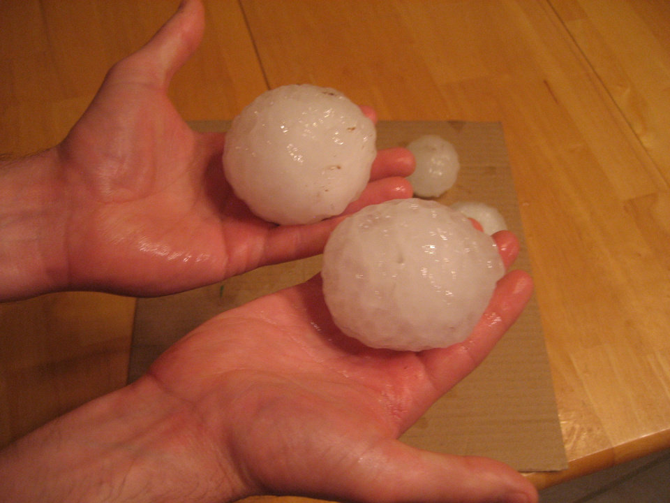 May 23, 2011 Hail - Piedmont