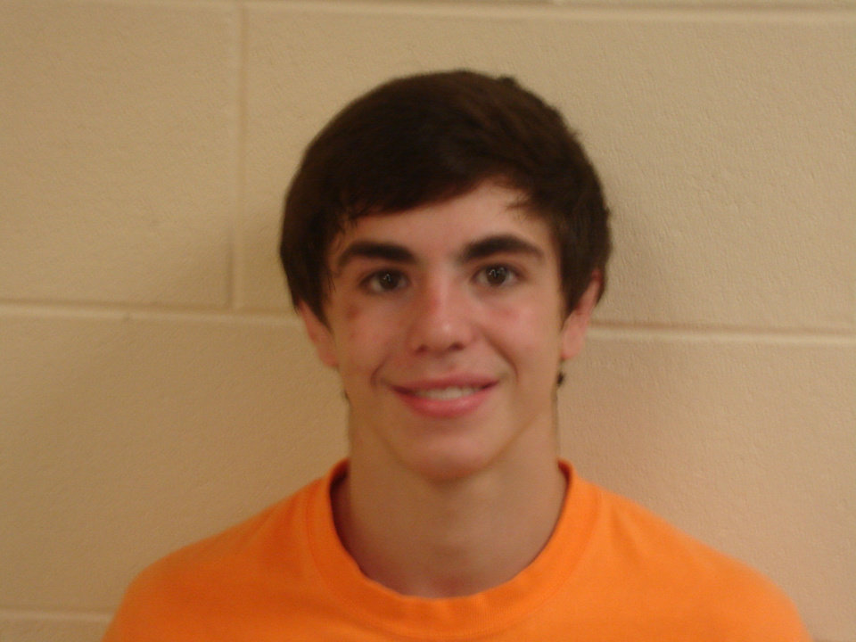 Photo - Kaid Brock, first team all city wrestler at 113 pounds from Stillwater