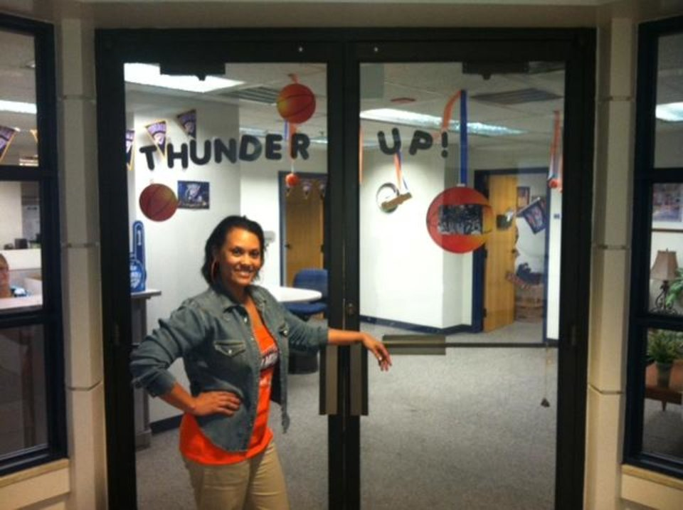 THUNDER UP- Brandi, OKC