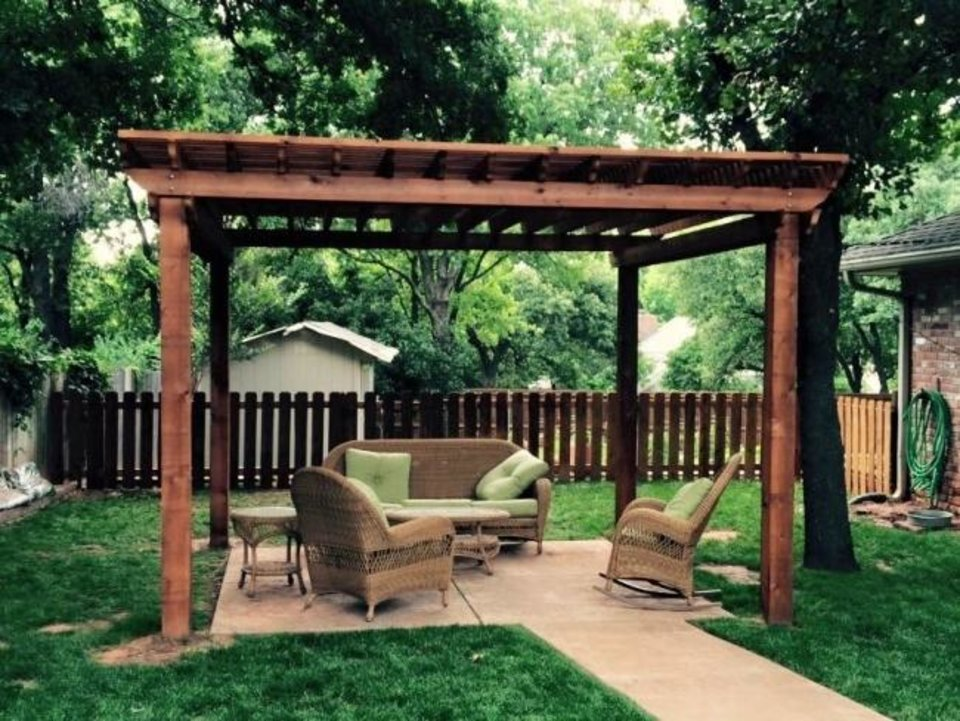 Photo -  Pergola by Big Country Lawn & Landscaping, an exhibitor at the Oklahoma City Spring Remodel & Landscape Show. [PHOTO PROVIDED]