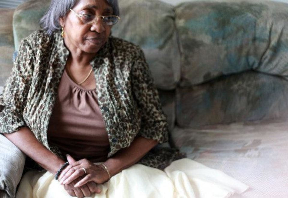 Photo - Relelie Rogers, 68, worked as a domestic house worker for years. The new movie