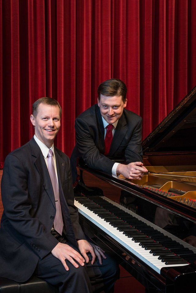 Photo - Jenkins-Malone Piano Duo   Photo provided  Photo provided
