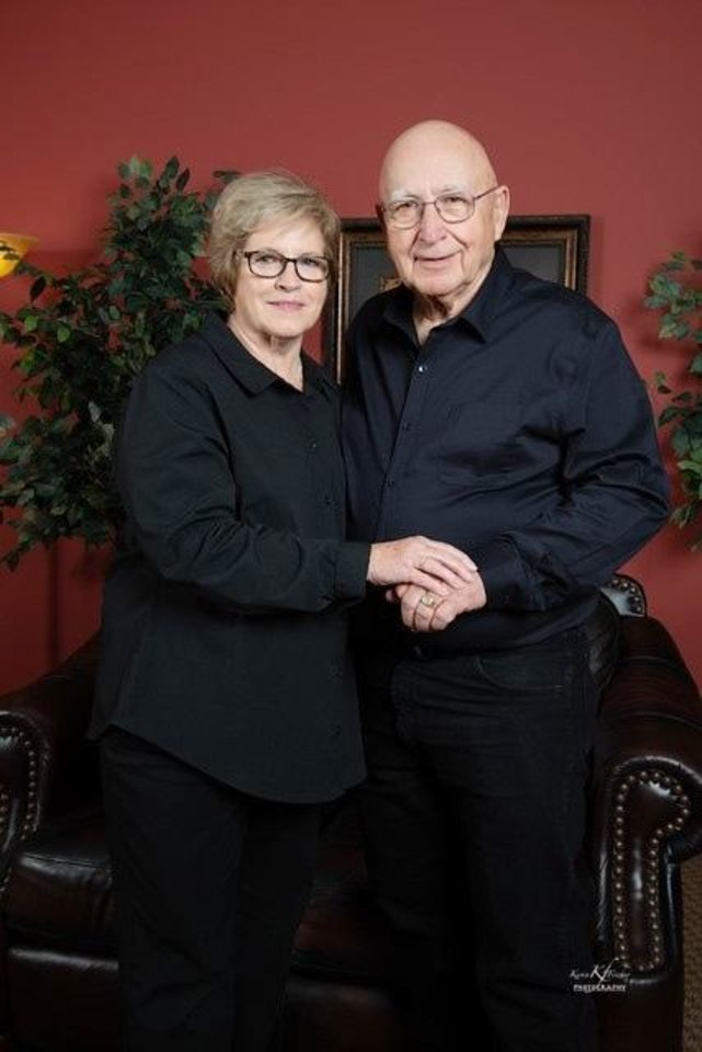 Photo -  60 years: Barbara and Riley Payne, of Weatherford, were married Jan. 26, 1961, in Wichita Falls, Texas.