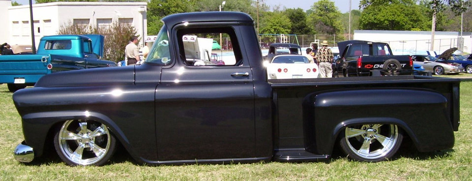 ""\'58 Gmc pickup owned by Jeff Hohne of OKC wins """"Best of Show"""" at the www.streetkingsokla.com 31st anniversary celebration at Highland park in Guthrie 4/21/07. Community Photo By: Martin Blaney Submitted By: jimmy, guthrie""960|370|?|en|2|b7de0e31784c4a1bdcfbb93a7187d96d|False|UNLIKELY|0.2841956317424774