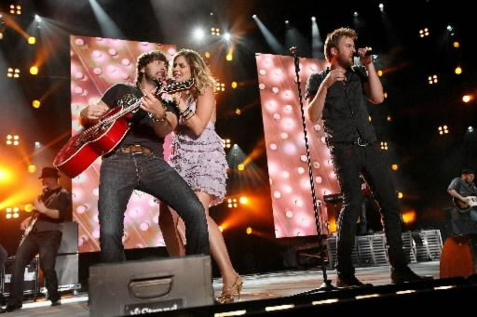 Photo -  Lady Antebellum (AP file)