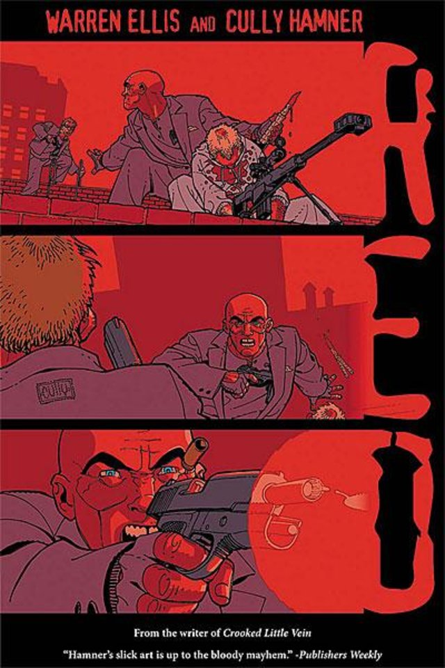 """Photo -  The graphic novel """"Red"""""""