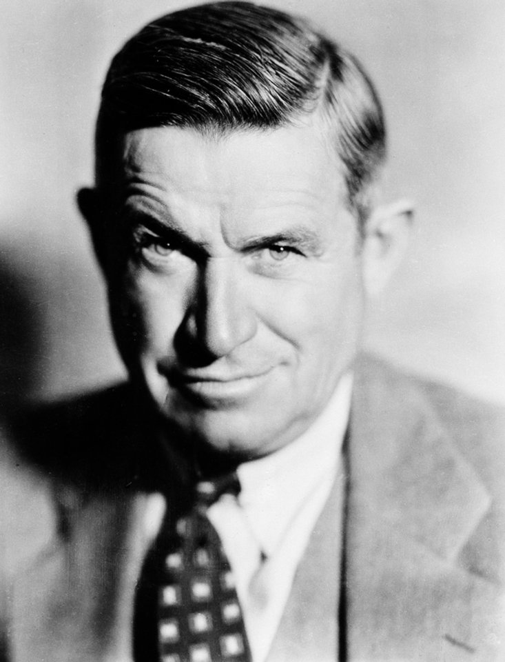 Will Rogers, humorist and actor, is shown in 1935 in Hollywood, Calif. AP File Photo