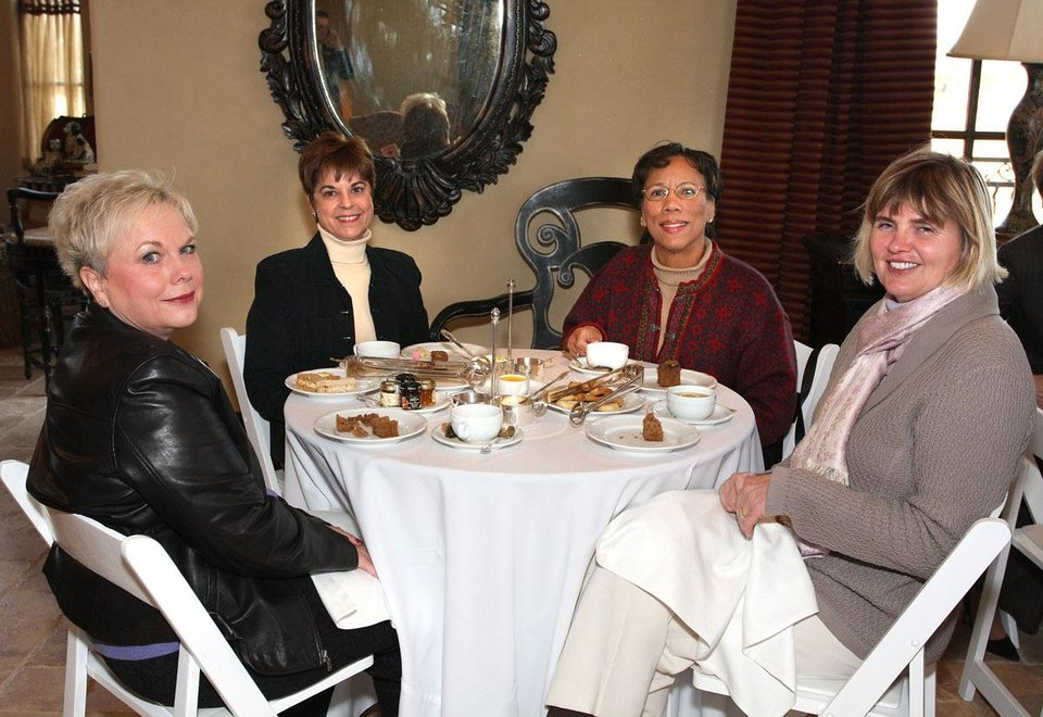Carolyn Goad, Cathie Gauntt, Pat Demps, Deborah Grisham.	PHOTO BY DAVID FAYTINGER, FOR THE OKLAHOMAN