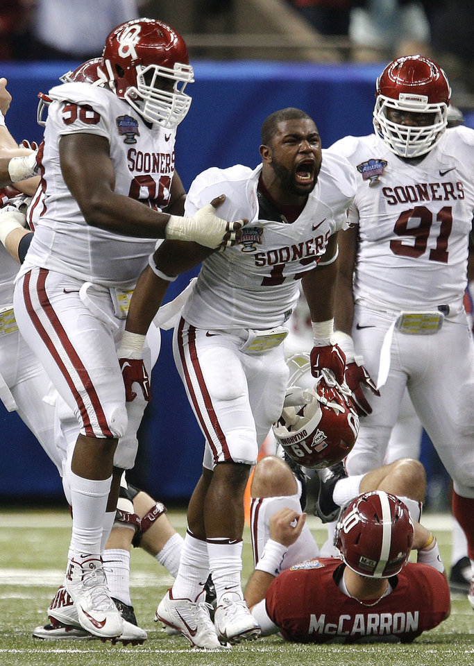 Photo - OU coaches are hoping to get more pass rushing chances for Eric Striker this season.