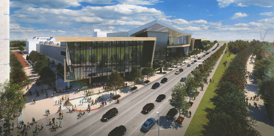Photo - The MAPS 3 convention center is expected to open in 2020. [City of Oklahoma City/Populous]