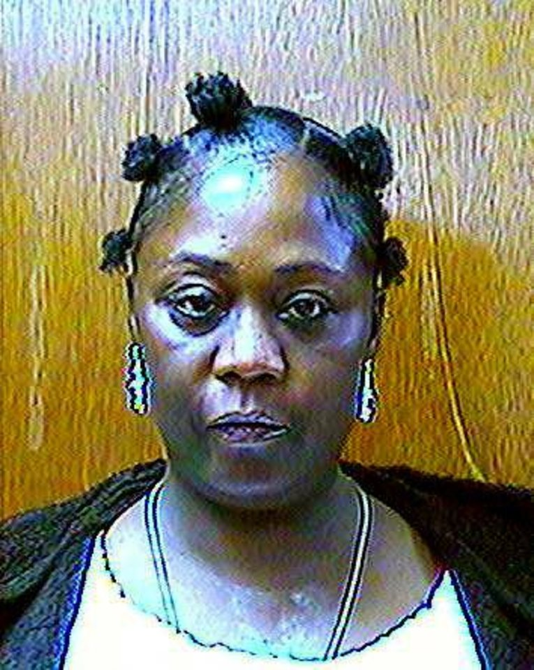 Aline Williams Williams died in a wreck after a chase Tuesday with Oklahoma City police.