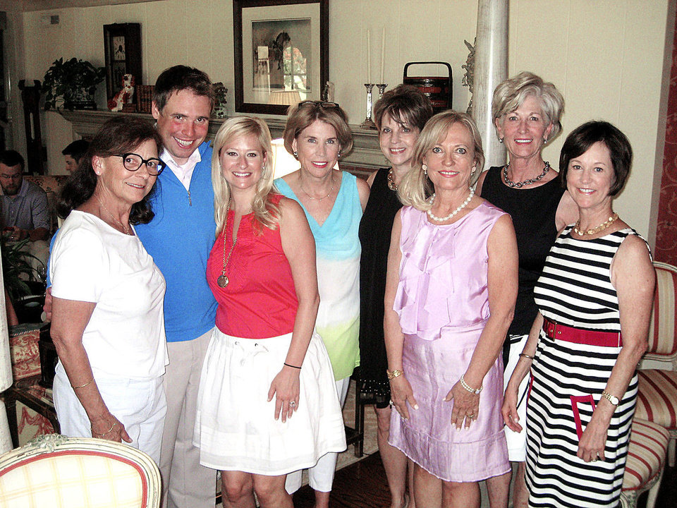 Photo - Jana Reynolds, Matt Curtright, Kathryn Holmboe, Peggy Duncan, Marilyn Barragree, Barbara Quillian, Susan Parker, Leslie Regens. PHOTO PROVIDED