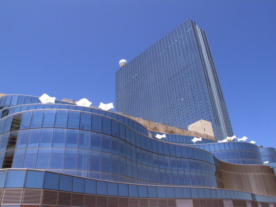 Photo - FILE - In this May 30, 2014, file photo, the Revel Casino Hotel in Atlantic City, N.J. is shown. Atlantic City's Revel Casino Hotel will shut down in September 2014, after failing to find a buyer in bankruptcy court, company officials announced Tuesday, Aug. 12, 2014. (AP Photo/Wayne Parry, File)