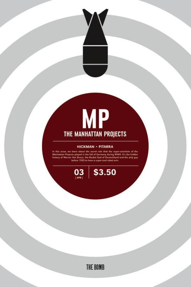 "Photo - ""Manhattan Projects"" No. 3. Image Comics."