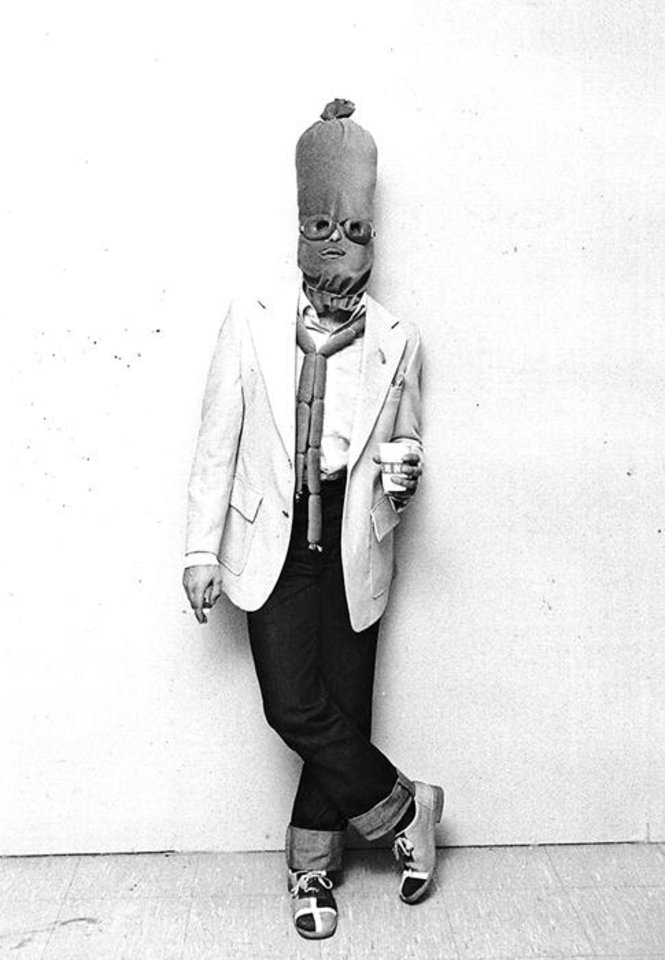 **For Alternate Crop** Billy Kort cavorts as Billy Brautwurst at the Halloween Masquerade Ball. Photographed on Oct. 30, 1979. Archive Photo by Todd James