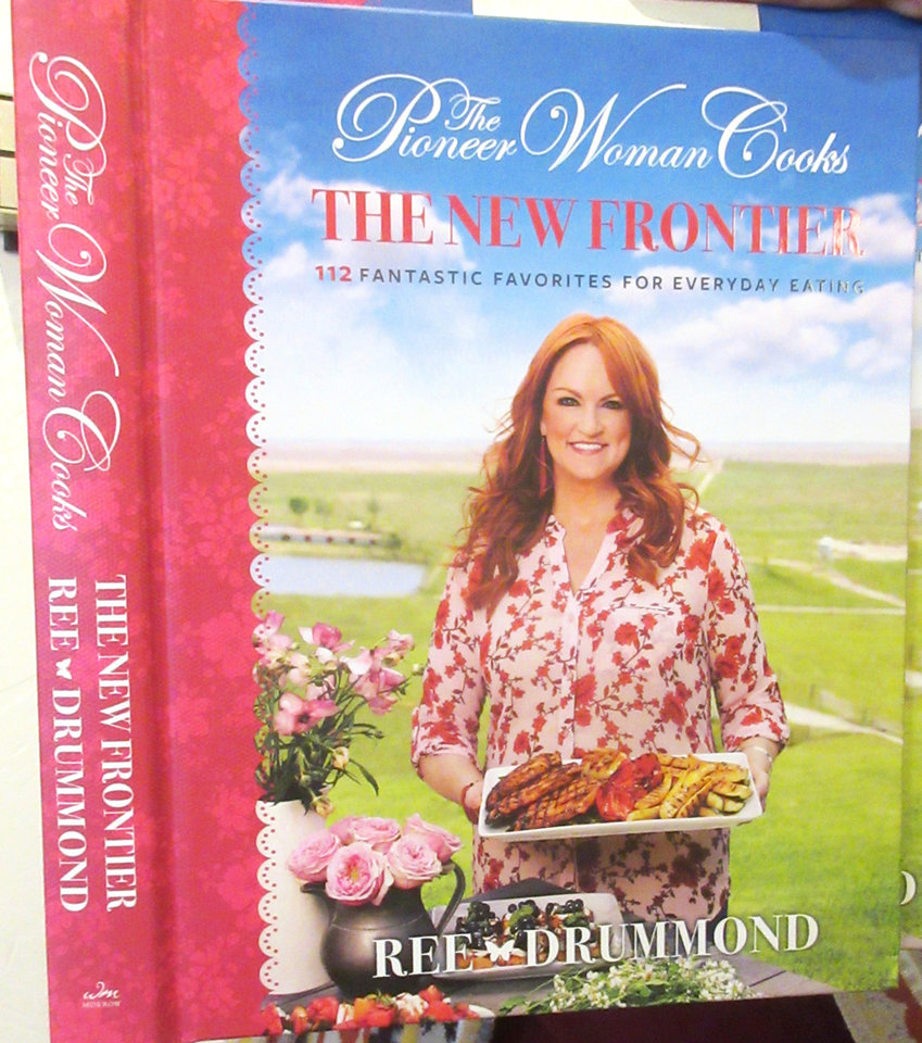 "Photo - The cover of the new cookbook ""Pioneer Woman Cooks: The New Frontier."" HELEN FORD WALLACE PHOTO"