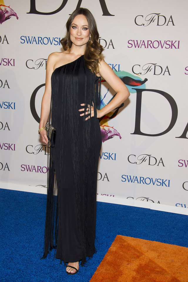 Photo - Olivia Wilde attends the CFDA Fashion Awards on Monday, June 2, 2014 in New York. (Photo by Charles Sykes/Invision/AP)