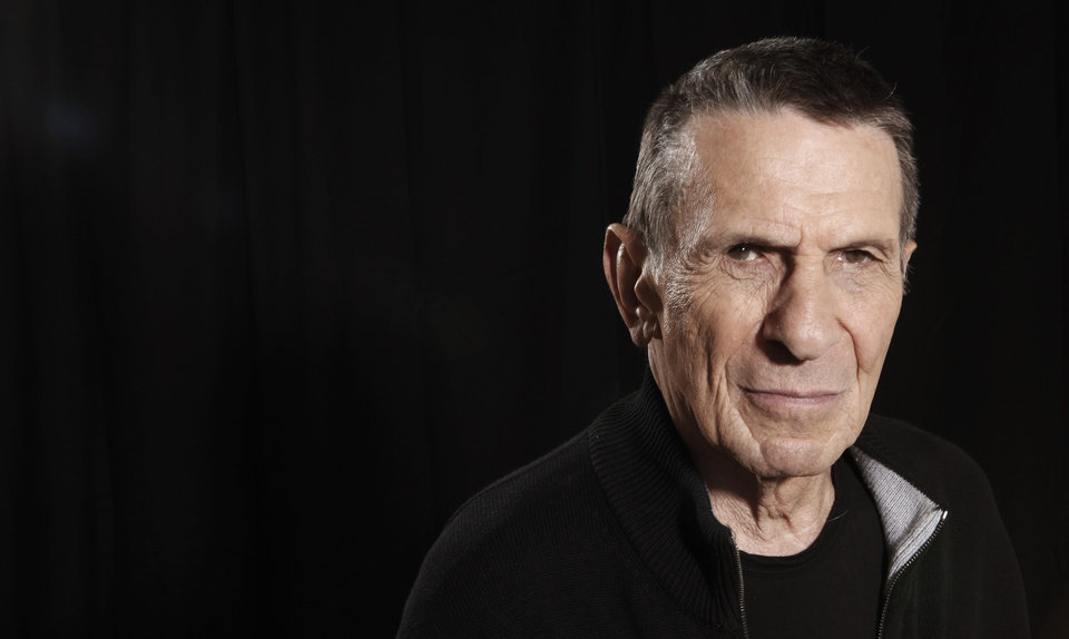 Photo - Actor Leonard Nimoy, a cast member in the upcoming film