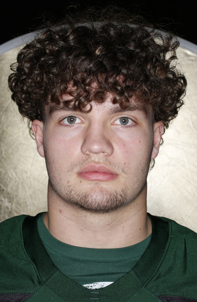 Photo - Cole Mashburn, Norman North, Oklahoman Football All State. Monday, December 17, 2018. Photo by Doug Hoke, The Oklahoman
